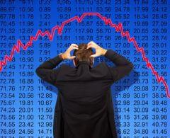 Börsencrash - Stock market cash