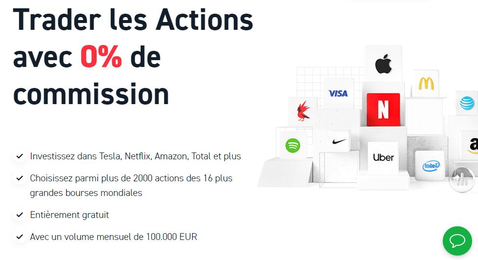 XTB 0% Commissions