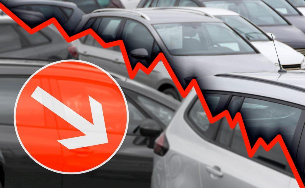 Automobile : Effondrement des ventes en Europe