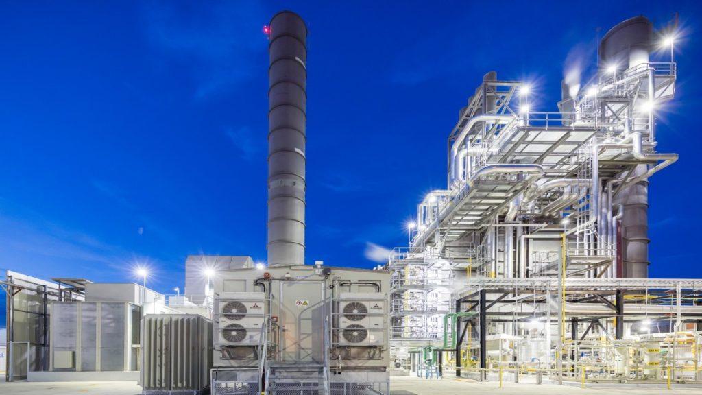 Centrale Electrique en Ouzebekistan