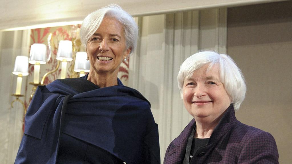 Christine Lagarde et Janet Yellen